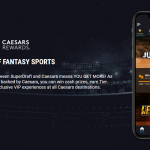 SuperDraft Launches Sports Betting App with Caesars Rewards