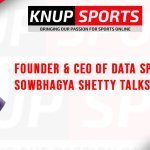 "Show #123 – Founder & CEO of Data Sports Group Sowbhagya Shetty Talks ""Sports Data"""