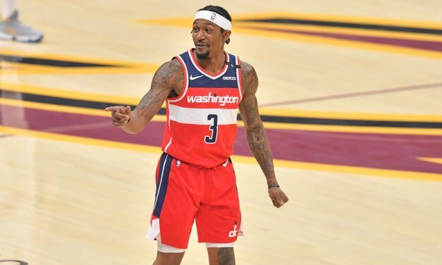 Bradley Beal responds to Kent Bazemore