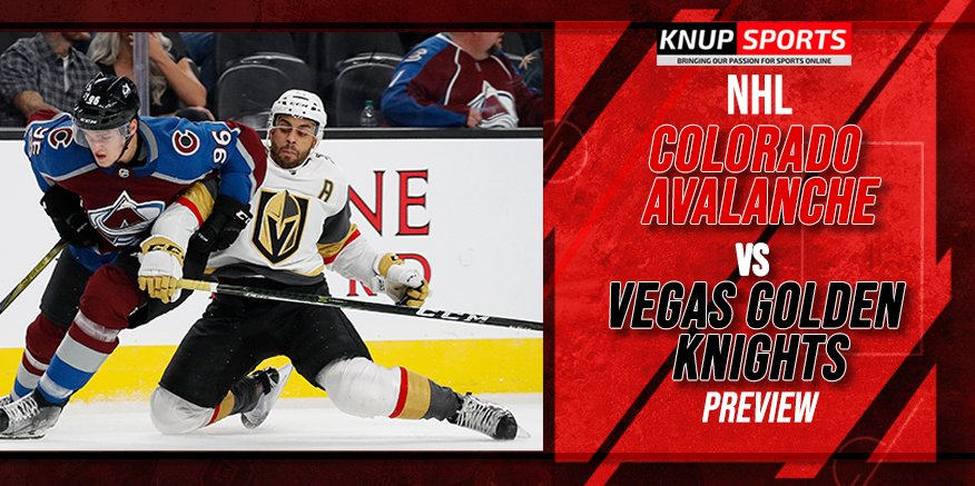 2021 NHL Playoff Preview: Avalanche vs Golden Knights