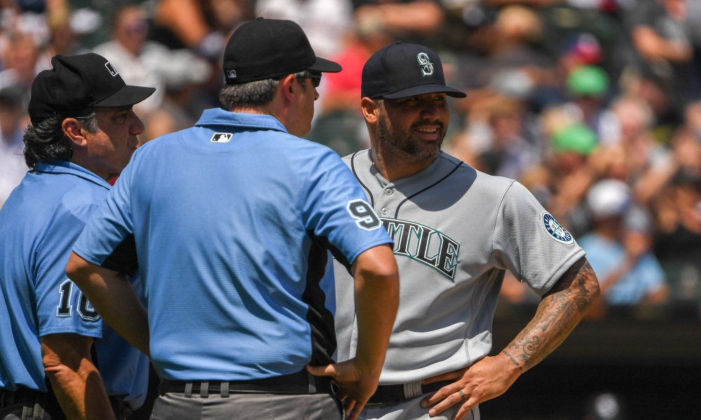 Hector Santiago Becomes the First Player to be Ejected after MLB Rule Change