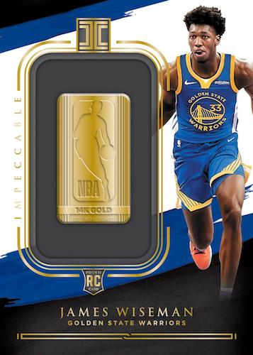 Panini Impeccable Basketball Cards 14K Gold