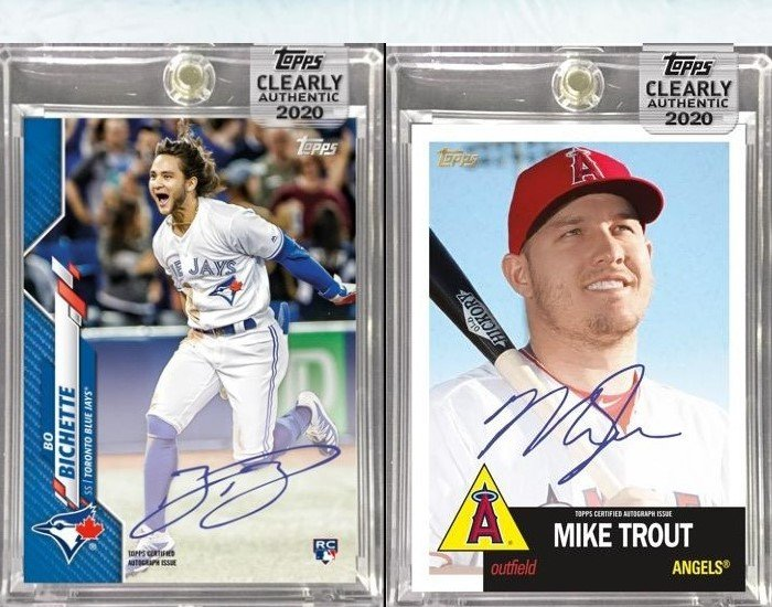 2021 Topps Clearly Authentic Baseball Release Preview