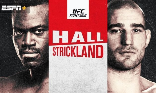 UFC Fight Night: Hall vs Strickland Pick and Prediction