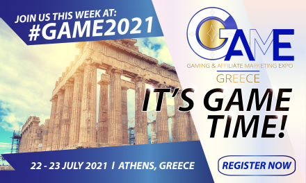 """Eventus International Announces """"It's Game Time"""" With GAME Greece Kicking Off on 22 July 2021"""