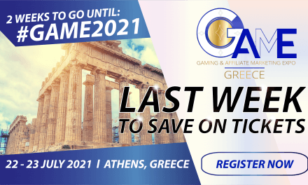 Last Week to Save Tickets for Game Greece 2021