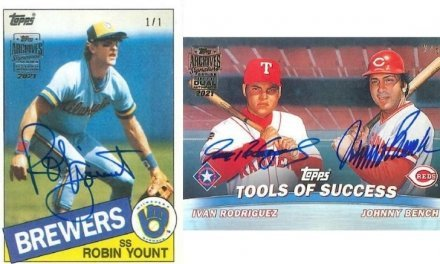 2021 Topps Archives Signature Series Baseball: Retired Player