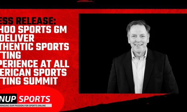 PRESS RELEASE: Yahoo Sports GM to Deliver Authentic Sports Betting Experience at All American Sports Betting Summit