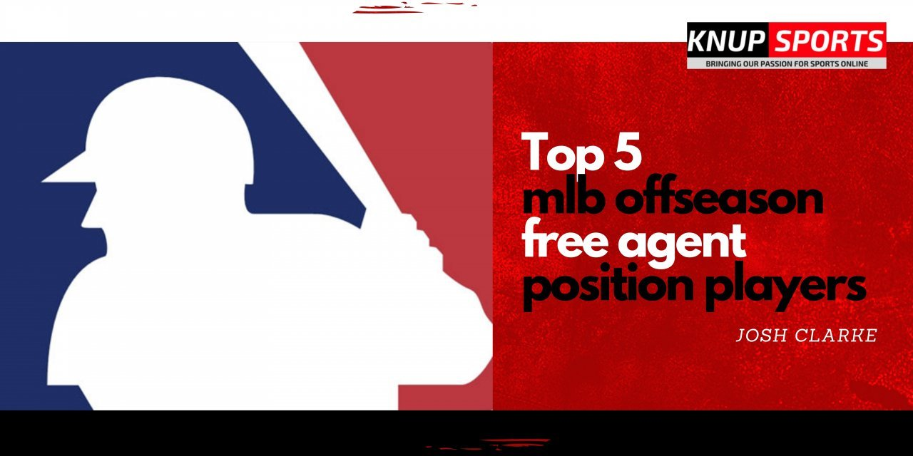 Top Five Free Agent Position Players This MLB Offseason