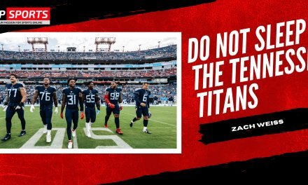 Do Not Sleep on the Tennessee Titans