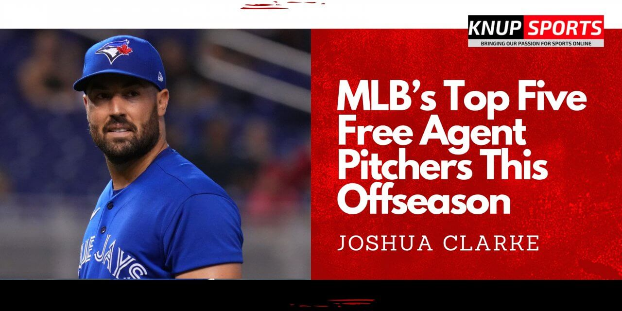MLB's Top Five Free Agent Pitchers This Offseason