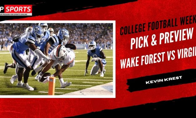 Wake Forest vs Virginia Pick & Preview – College Football Week 4