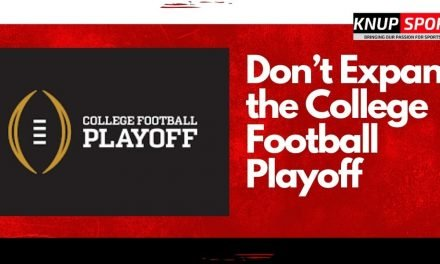 Don't Expand the College Football Playoff