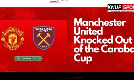 Manchester United Knocked Out of the Carabao Cup