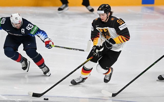 Moritz Seider NHL Year of the Rookie