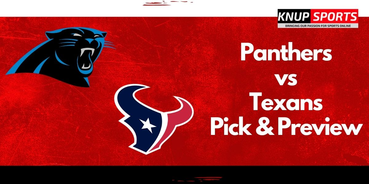 Panthers vs Texans Pick & Preview – NFL Week 3