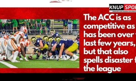 The ACC is as competitive as it has been over the last few years, but that also spells disaster for the league