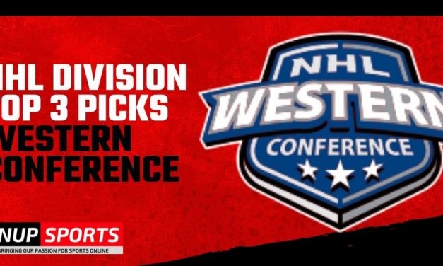 NHL Division Top 3 Picks WESTERN CONFERENCE