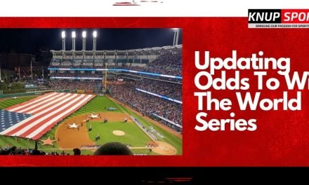 Updating Odds To Win The World Series