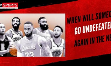 When Will Someone Go Undefeated Again In the NBA?
