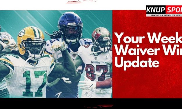 Your Weekly Waiver Wire Update